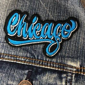 American Eagle Outfitters Jackets & Coats - Chicago Lollapalooza Denim Jacket L American Eagle
